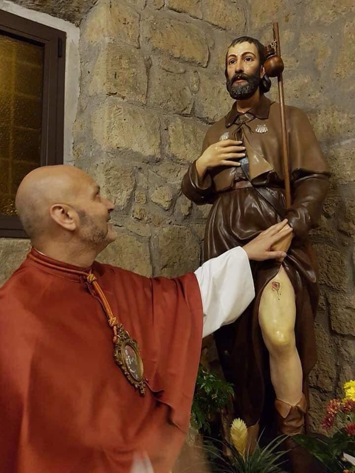 Costantino de Bellis e San Rocco